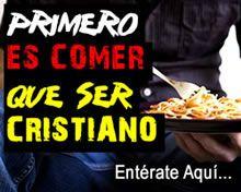 Primero es comer que ser cristiano ¿Qué opinas? Entérate Aquí http://www.epicapacitacion.com.mx/articulos_info.php?id_articulo=443