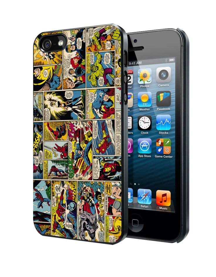 Marvel Comics Samsung Galaxy S3/ S4 case, iPhone 4/4S / 5/ 5s/ 5c case, iPod Touch 4 / 5 case