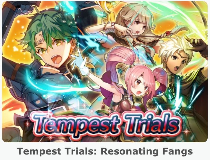 Fire Emblem Heroes - content update for July 7   - second Tempest Trials event called Resonating Fangs is live - every weekend you can get twice the usual amount of SP in battle (applies to Story Maps Arena etc.) thanks to the SP X2 Event - during the second Tempest Trials events a new set of Daily Special Quests is available every day with rewards doubled from July 14 to July 21  from GoNintendo Video Games