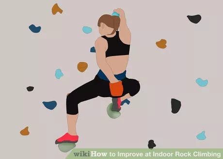 Image titled Improve at Indoor Rock Climbing Step 10
