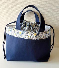 Lunch bag liberty (+lien vers tuto)