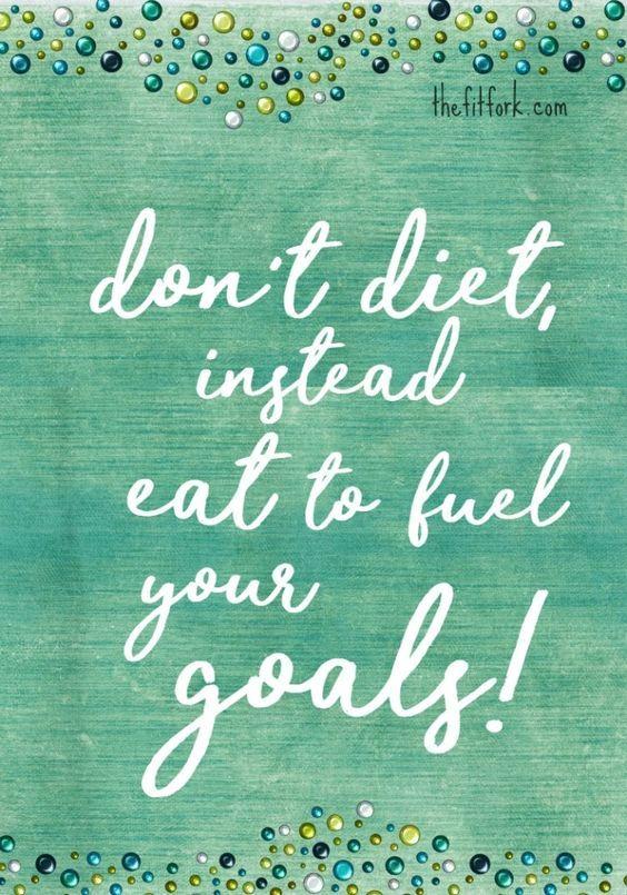 Fuel your goals! #weightloss #goals #skinnyms