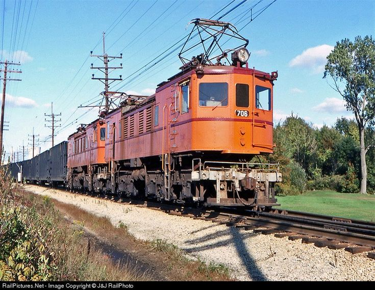 CSS 706 Chicago SouthShore & South Bend Railroad None at Unknown, Illinois by J&J RailPhoto