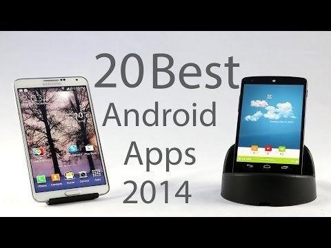 Top 20 Best Android Apps 2014 - YouTube