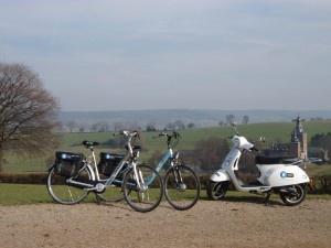 Fiets en Wandelroutes rondom landgoed Altembrouck.