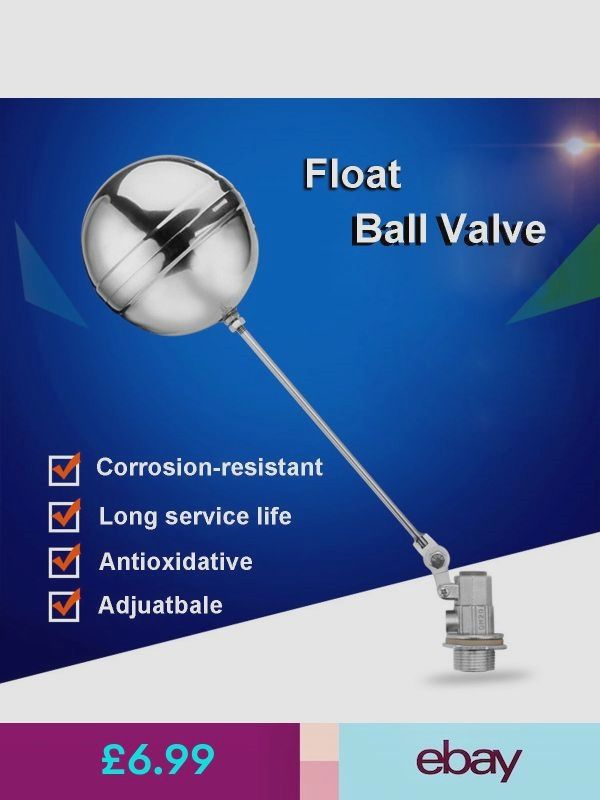 1 2 Float Ball Valve 304 Stainless Steel High Pressure Automatic