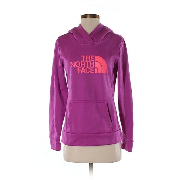 Pre-owned The North Face Pullover Hoodie Size 4: Dark Purple Women's... ($41) ❤ liked on Polyvore featuring tops, hoodies, dark purple, the north face hoodie, pullover hoodie, the north face hoodies, pullover hoodies and pullover tops