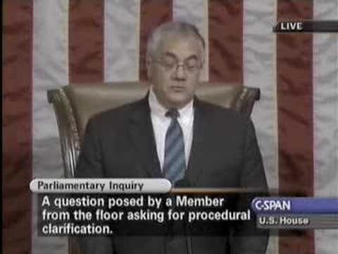 But its ok when THEY do it??!!▶ Barney Frank kicks Patrick McHenry around the House floor - YouTube