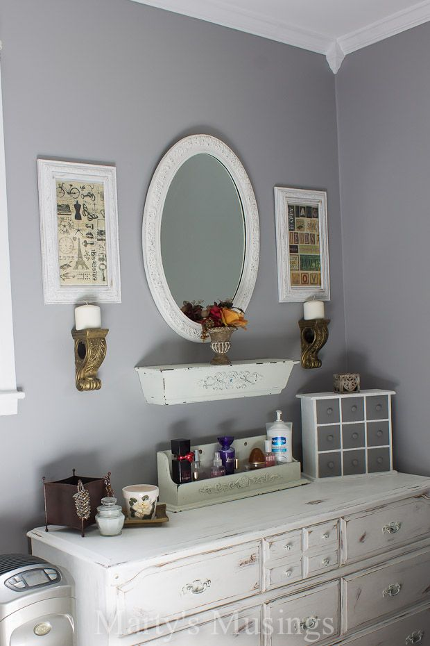 New Paint Color for Bedroom  Martys Musings  DIY Home Decor Ideas  Pinterest  Pewter, Paint