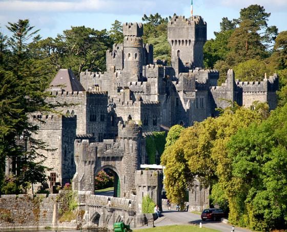 Ashford Castle Is A Meval Built In 1228 That Has Been Expanded Over The Centuries And Turned Into Five Star Luxury Hotel Near Cong On