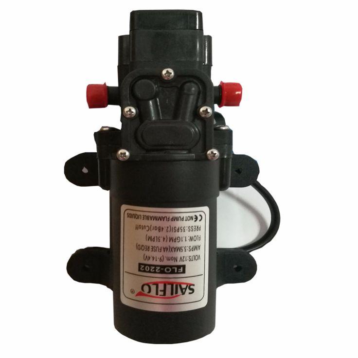 Sailflo Water Pump 12 Volt Dc 1 2 Gpm 4 3 Lpm 35 Psi Small