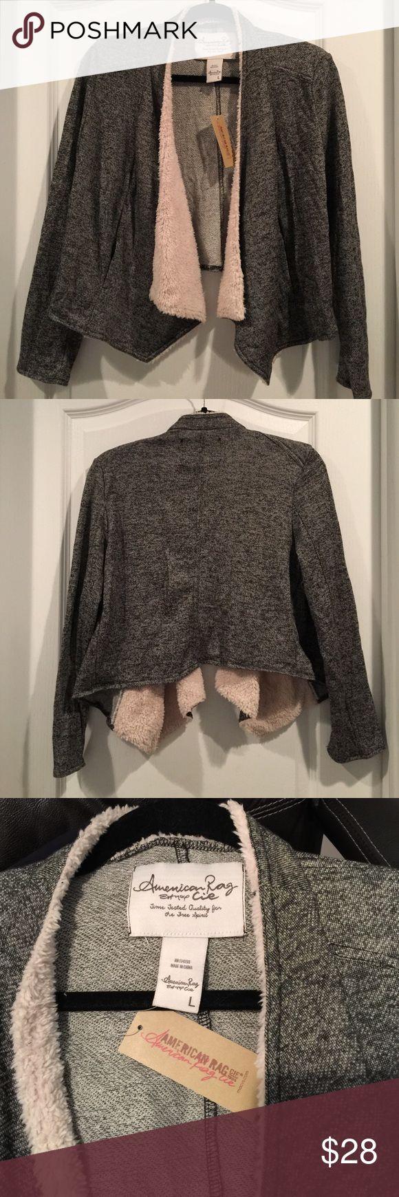 American Rag shrug Soft and cozy American Rag shrug will keep you warm this winter ❄️ American Rag Jackets & Coats