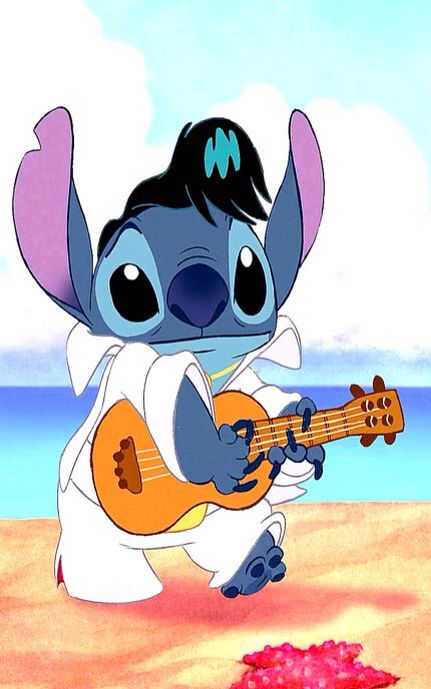 Everyone wants to be compared to the king - Stitch as Elvis - Do you like anime…