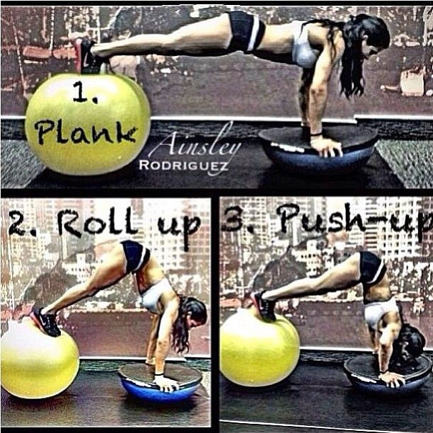 Bosu Ball Good Or Bad: 69 Best Images About Bosu Workouts On Pinterest
