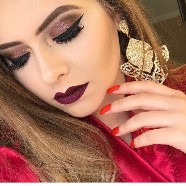 Sooo beautiful!  @micheleparentemaquiagem | #makeup