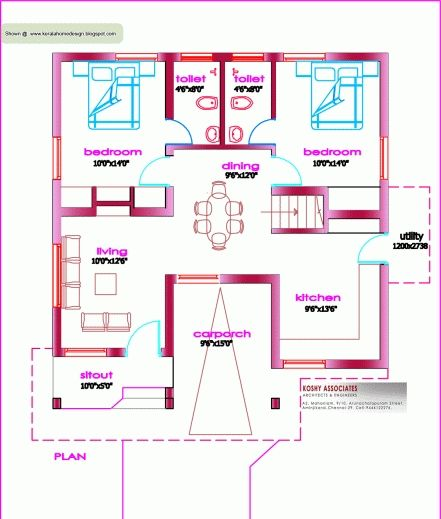 Fascinating House Plans Indian Style In 900 Sq Ft 900 Sq Ft Free