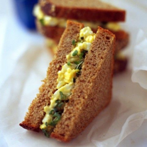 The Ultimate Egg and Cress Sandwich - love cress! Used to always eat this from my grannies garden