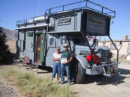 Make Your Own RV. I'd love this for a bug out rig!