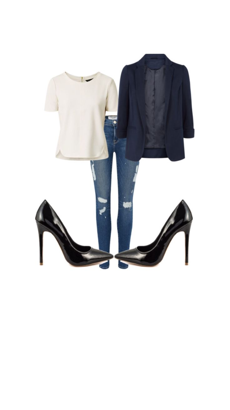 Find out how to buy jeans for you shape and how to style them.