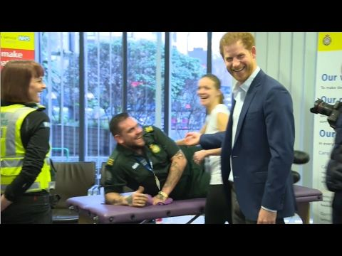 Prince Harry Kicks off Conversations on Time To Talk Day _#Heads Together