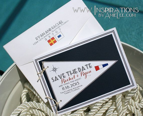 17 best ideas about nautical wedding invitations on pinterest, Wedding invitations