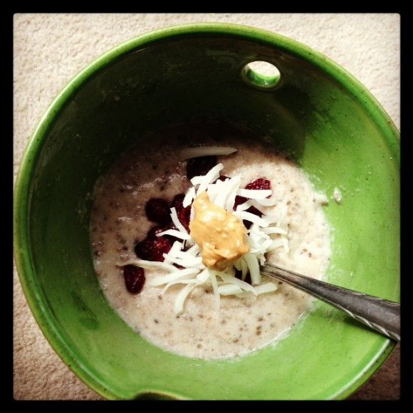 Creamy Coconut Chia Porridge