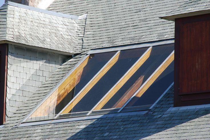 Dachflächenfenster in Schieferdach