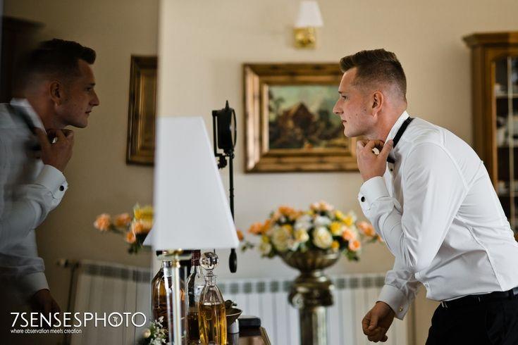 Ślubny reportaż w stylu glamour w Rezydencji Sandomierskiej od 7sensesphoto