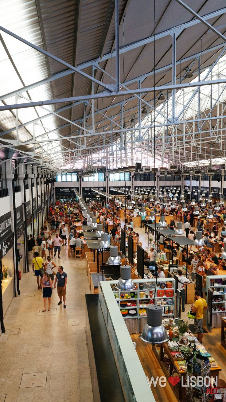 Mercado da Ribeira is Lisbon's iconic market now with a food court featuring gourmet and chic meals for all tastes and budgets.