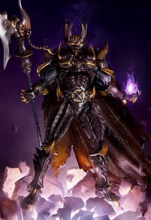 Dark Makai Wolf Knight Kiba- The Black Fang | Warriors ...