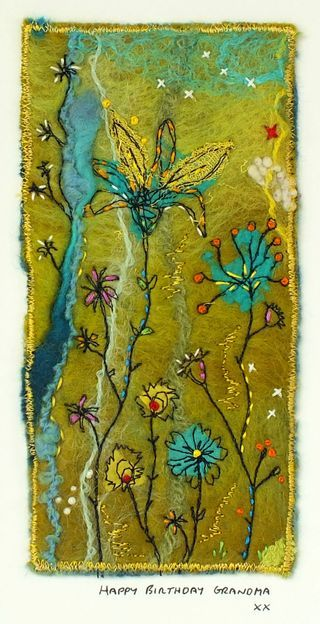 Felt_Stitch_Flowers_Birthday_Card handmadebyrosiepink blog. lovely work on this blog!