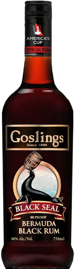 Gosling's world famous Black Seal® Rum. We've been perfecting our award winning Black Seal® Rum since 1858.