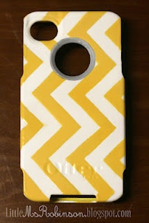 DIY otterbox customization ... (paint,then modge podge)
