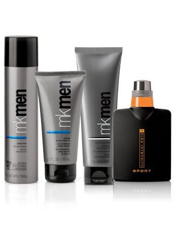 Mary Kay products for men include skin care targeted to combat signs of aging, shave foam, sun care products and a selection of colognes. .