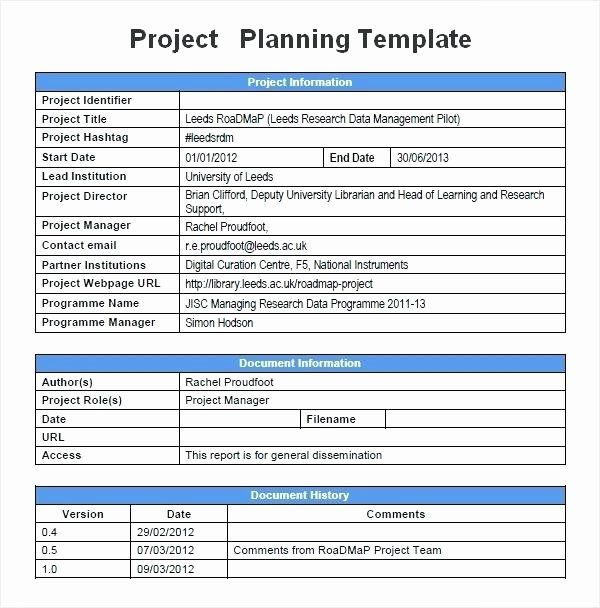 Project Management Plan Template Word Awesome Simple Project Management Plan Example Dow In 2021 Project Proposal Template Project Planning Template Proposal Templates