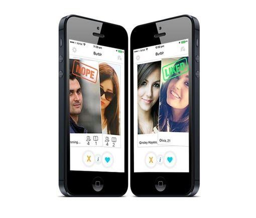 Burblr: Tinder Clone Script- iPhone dating App