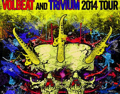 "Check out my @Behance project: ""VOLBEAT & TRIVIUM POSTER"" https://www.behance.net/gallery/17927515/VOLBEAT-TRIVIUM-POSTER"