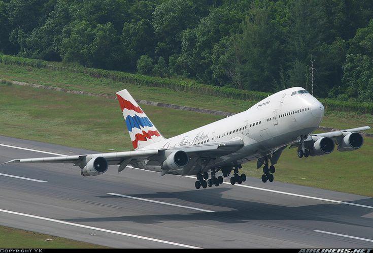 Orient Thai Airlines HS-UTP Boeing 747-246B