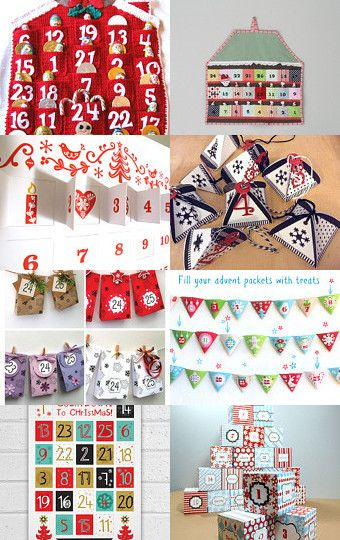 Advent Calendar Diy Kit : Best christmas traditional red green images on