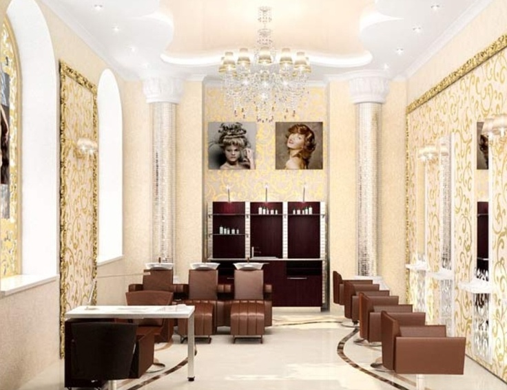 29 best hair salon interior images on pinterest salon ideas salon design a - Salon interieur design ...