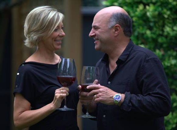"""Our friend, Kevin O'Leary (aka. Mr. Wonderful from """"Shark Tank"""") and his wife Linda are launching their brand of amazing, affordable wines this Sunday at 12 p.m. ET on QVC - and we've got the scoop! More info on our blog 