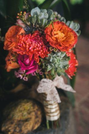 Elegant Puerto Rican Wedding Ruffled
