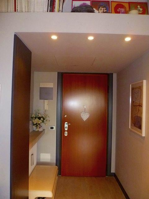 L'ingresso dell' appartamento. Per info: info@pianetacasapadova.it, o 049/8766222.