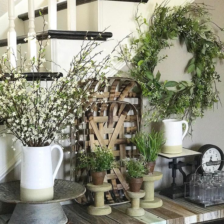 """784 Likes, 27 Comments - CurtisCreation Farmhouse Decor (@curtiscreation) on Instagram: """"So much cuteness in this picture! Almost all is available or coming soon to the shop! Spring Berry…"""""""