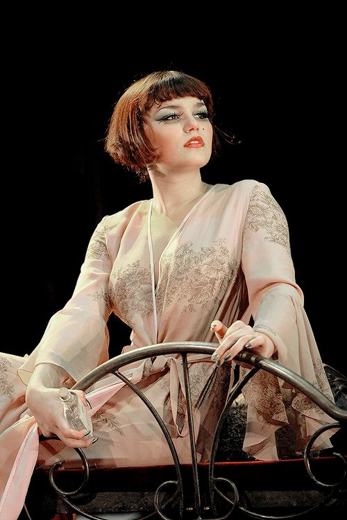 Samantha Barks as Sally Bowles in Cabaret, 2008.