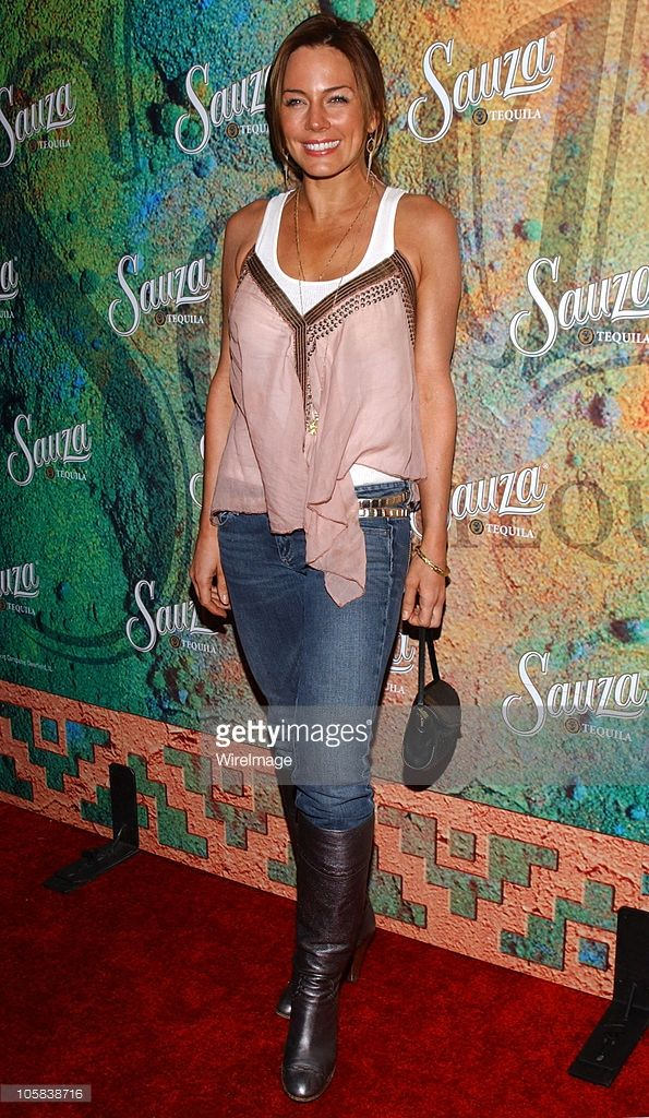 Krista Allen during Sauza Tequila's Cinco de Mayo Party Hosted by Jeremy Piven - Arrivals at Velvet Margarita Cantina in Hollywood, California, United States.