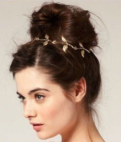 Best 25 grecian hairstyles ideas on pinterest grecian hair grecian hairstyles a bun fit for a goddess pmusecretfo Image collections