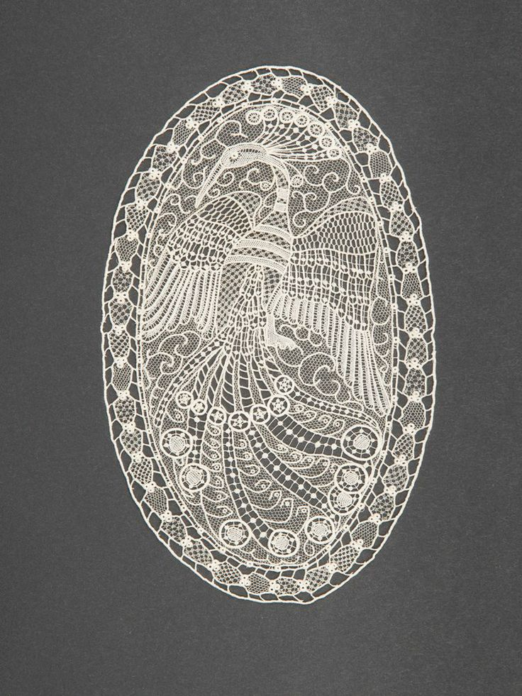 Austro-Hungarian lace. 1905-1915