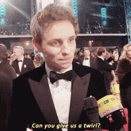 When he made all our red carpet dreams come true. | Community Post: 17 Times Eddie Redmayne Was Bae