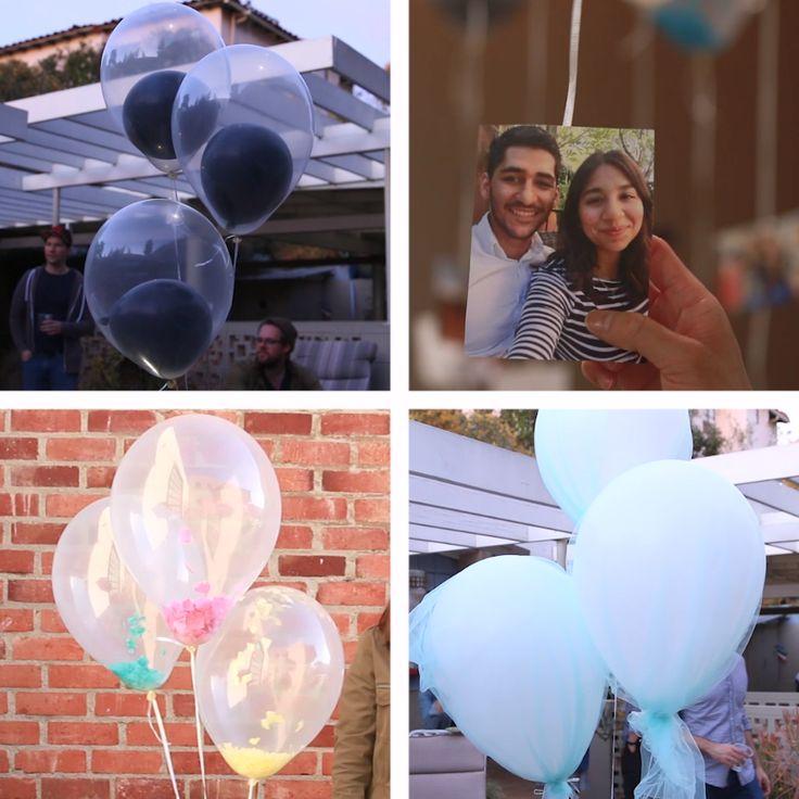 4 Kreative Deko-Ideen für Luftballons #kreativ #Selbstgemacht #Einfach